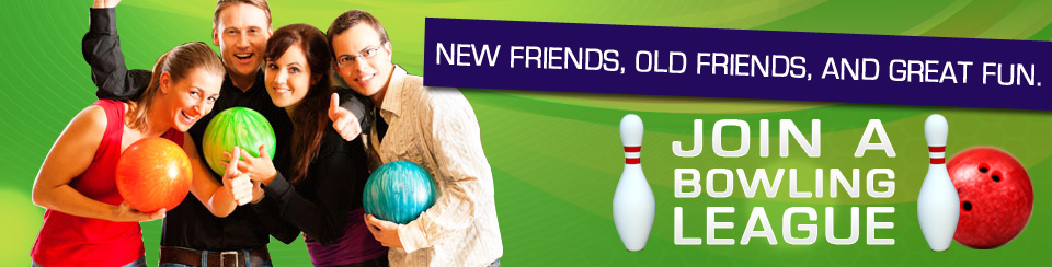 Join bowling league